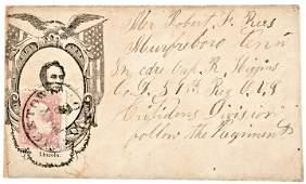 1860 Follow the Regiment, Lincoln Portrait Cover