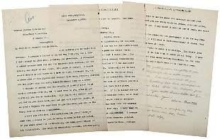 Lot 17: Clara Barton Signed Letter, 1909