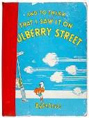 Lot 160: Dr. Seuss Signed Book