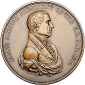 Lot 991:1817 James Monroe Indian Peace Medal