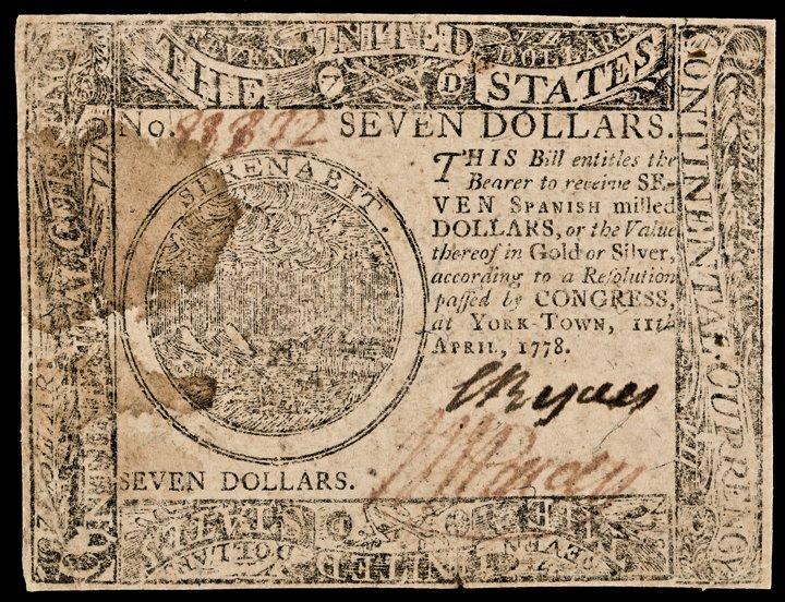 Continental Congress. April 11, 1778. YORKTOWN