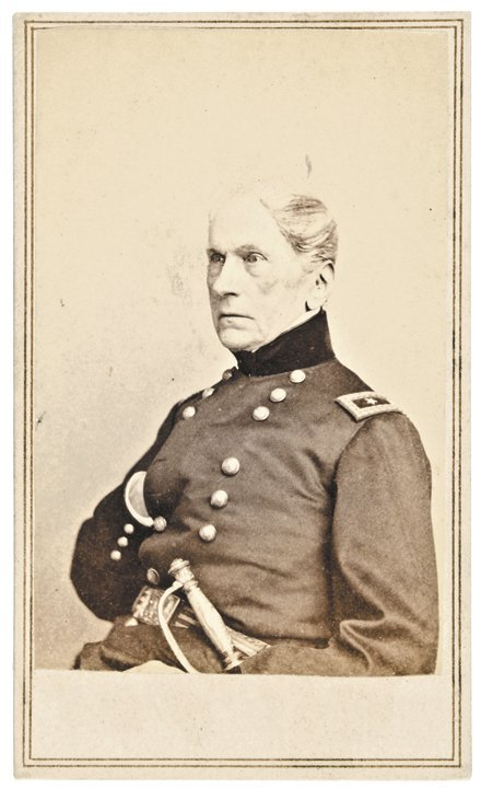 CDV of Civil War General JOHN WOOL by Anthony