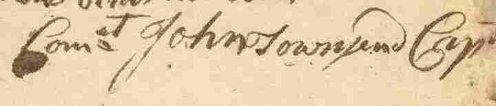 1781 Rev. War Bounty for Men Recruited in MA.