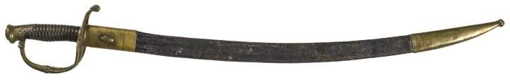 c. 1824, LAFAYETTE PRESENTATION OFFICER'S SWORD