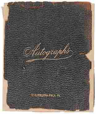 1900s Autograph Almum (120 pages)
