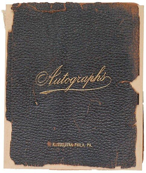 Lot 16: 1900s Autograph Almum (120 pages)