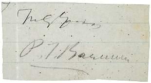 P.T. Barnum Signature
