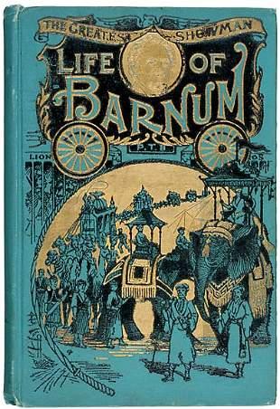 P.T. Barnum Autobiography. c.1891