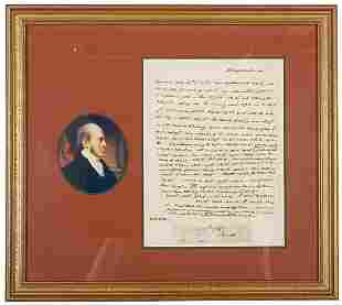 Coded Aaron Burr Letter, 1803