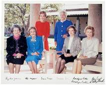 Lot 76: Rosalyn Carter, Betty Ford Signed