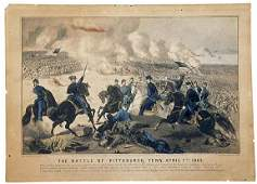 Lot 465:c1862 Currier & Ives Civil War Print