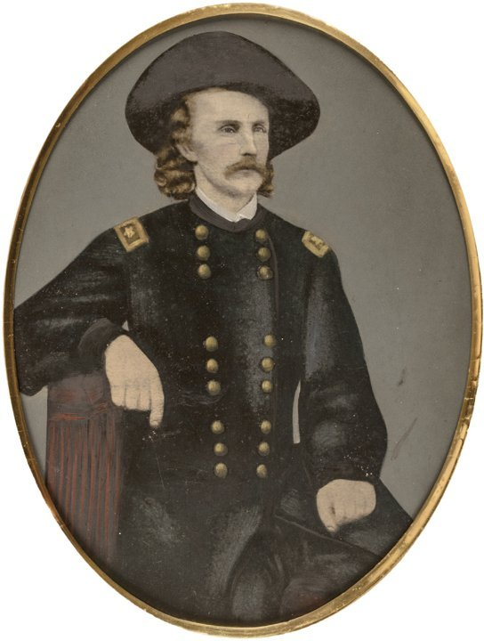 Civil War Tintype GEORGE ARMSTRONG CUSTER