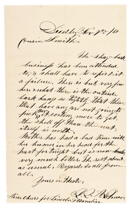 GIDEON WELLES, 1864 Civl War Date Order