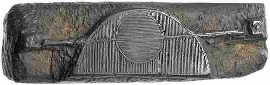 3 Colonial Era Printers WOODBLOCK PRINTING PLATES