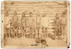 WAR PARTY Photograph of Dakota Sioux Indians
