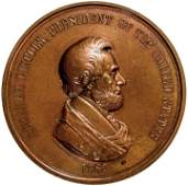 1862 ABRAHAM LINCOLN Indian Peace Medal