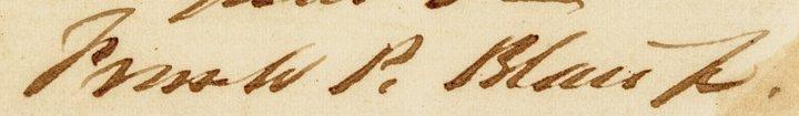 1859 FRANCIS PRESTON BLAIR JR. ALS - 3