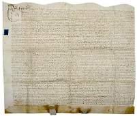 Lot 192: 1696 English Land Indenture