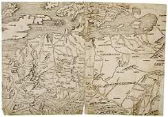 c 1493 Map of Europe