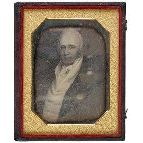 2009: (WILLAM CLARK), c. 1850, Daguerrotype Portrait