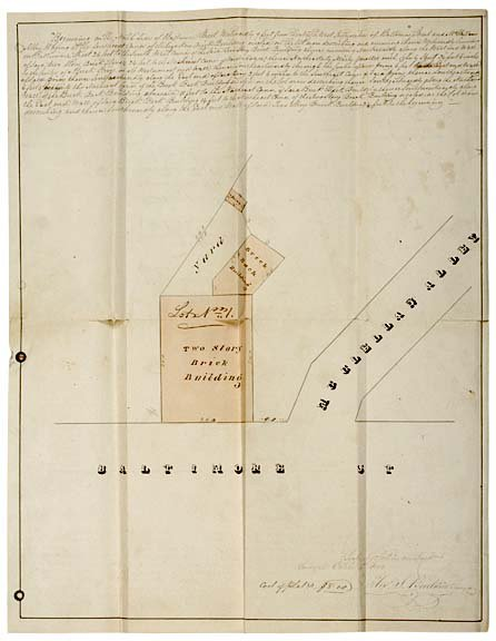 2014: ABNER DOUBLEDAY Signed Document and Mortgage