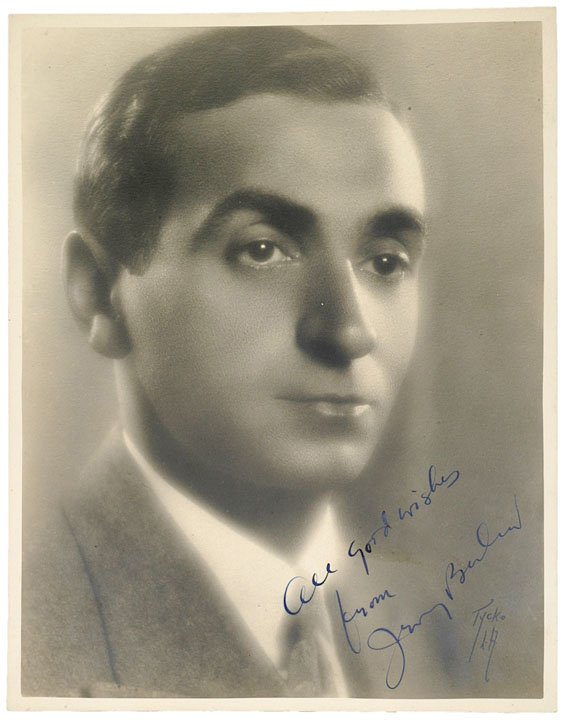 8: IRVING BERLIN, Photograph Signed and Inscribed