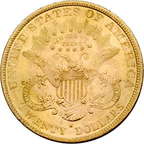 1375: 1884-S Liberty Head $20 Gold Double Eagle, MS-62 - 2
