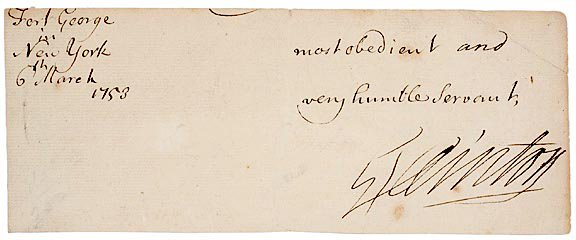 2010: GEORGE CLINTON Signed Document 1753