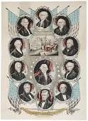 "2375: 1846, James K. Polk Inaugural Print:"""