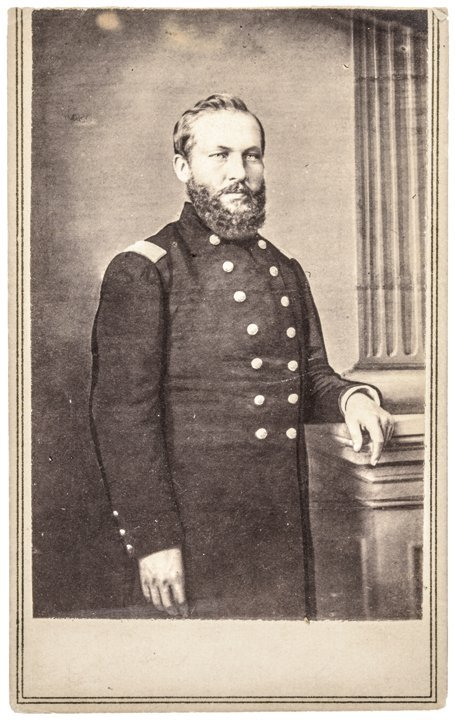 1862 Rare Civil War Army CDV of James Garfield