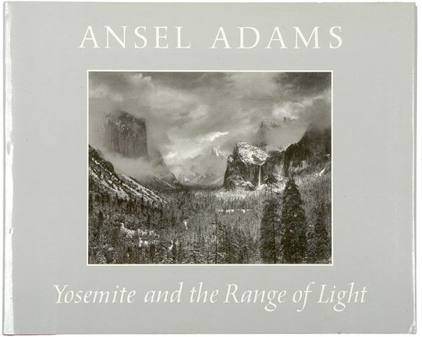 1: Photographer ANSEL ADAMS, Signed Book