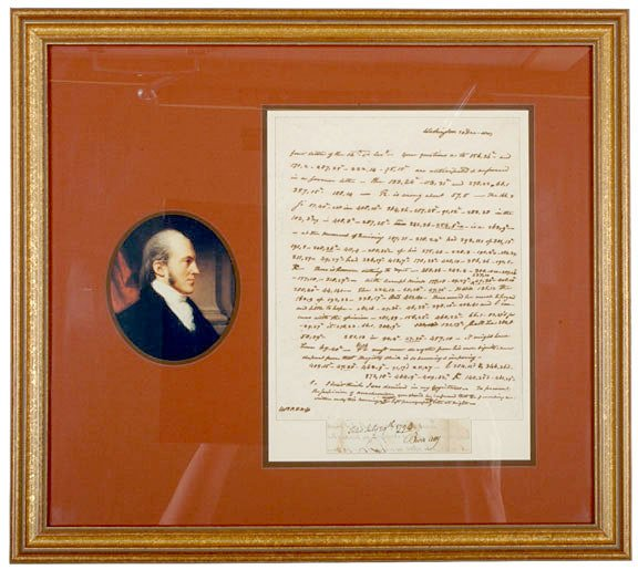 19: Coded Aaron Burr Letter, 1803
