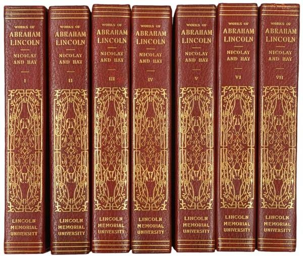 342: 1894 THE COMPLETE WORKS OF ABRAHAM LINCOLN