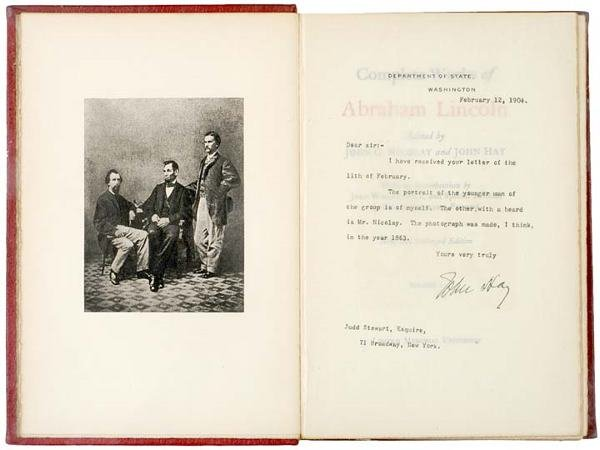 342: 1894 THE COMPLETE WORKS OF ABRAHAM LINCOLN - 2