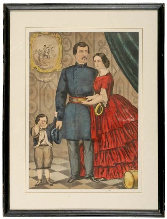 c. 1860-1870, Currier + Ives Lithographs