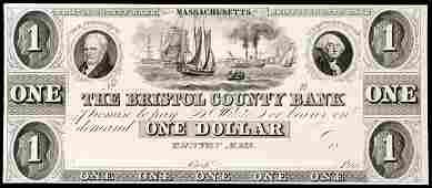 781: Taunton, MA, $1, Haxby MA-1205 G8
