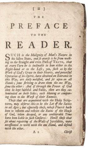 1757 Benjamin Franklin Philadelphia Printed Book