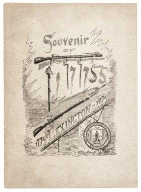 1875 Battle Of Lexington - Centennial Souvenir