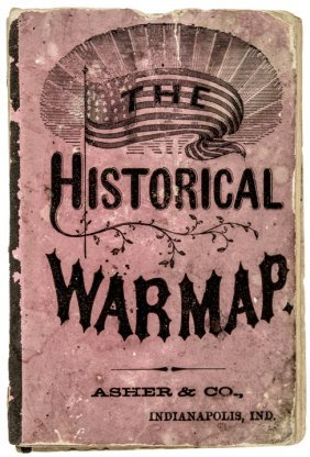 Civil War The Historical War Map. Pocket Guide