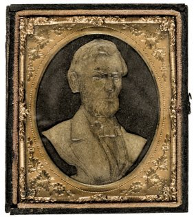 Abraham Lincoln Papyro Intaglio Portrait Case