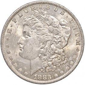 1883-o Morgan Silver Dollar Choice Brilliant Unc