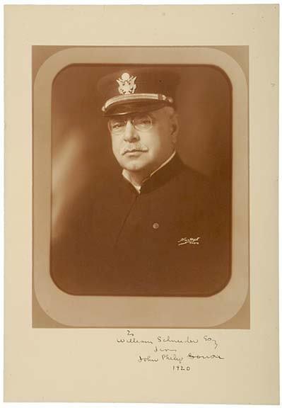 2021: JOHN PHILIP SOUSA, Signed Large Photograph, 1920