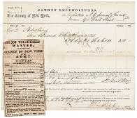 1864 New York Civil War Recruiting Advertisement