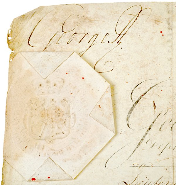 2: Revolutionary War Documents, 1775, Thomas Gage - 2