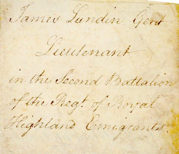 2: Revolutionary War Documents, 1775, Thomas Gage - 3
