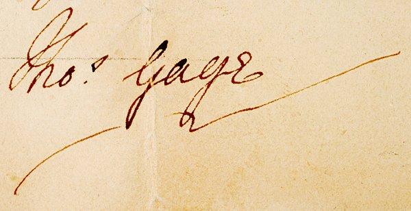 2: Revolutionary War Documents, 1775, Thomas Gage - 6