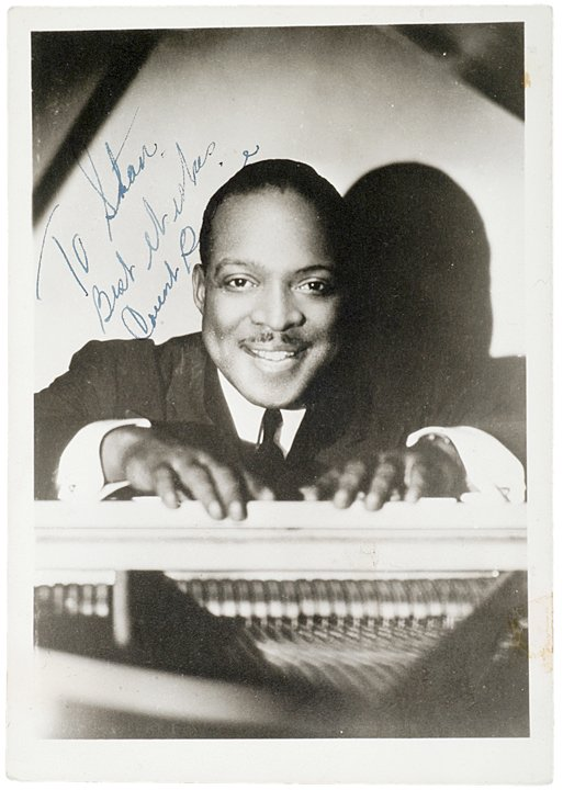 4: Signed and Inscribed COUNT BASIE Photograph