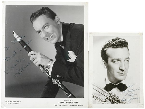 7: BIG BAND LEADERS Signatures, 1940s