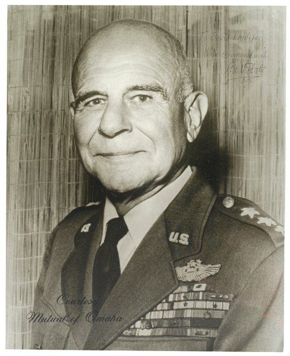 3017: JAMES H. DOOLITTLE Signed Photograph