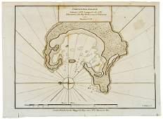 3346 Seven Maps of Captain Cook Voyages c 1781